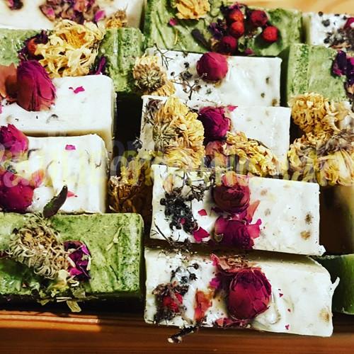 Organic herbs soap