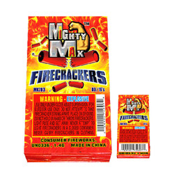 Mighty Max Firecrackers - 80/16