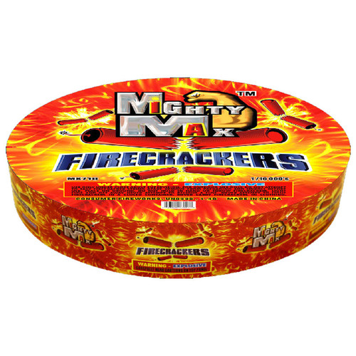 Mighty Max Firecrackers - 16,000 string