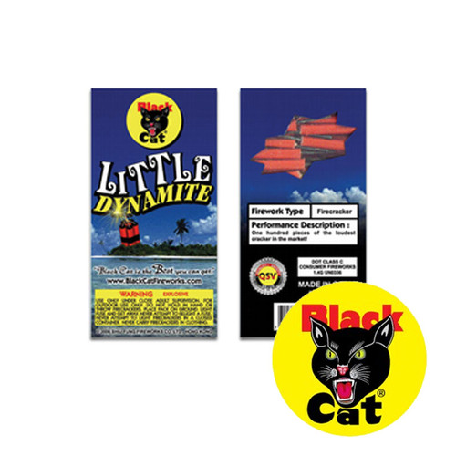 Black Cat Little Dynamite Firecrackers