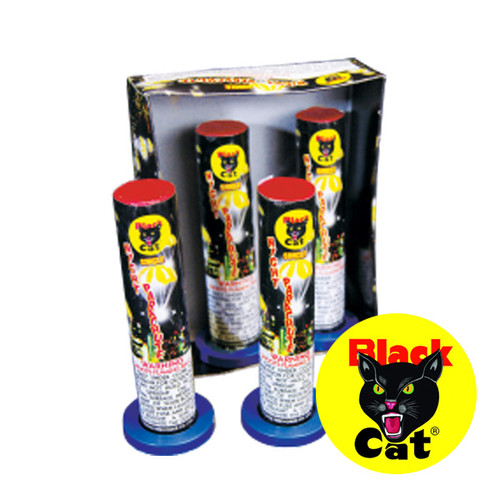 Black Cat Single Night Parachute