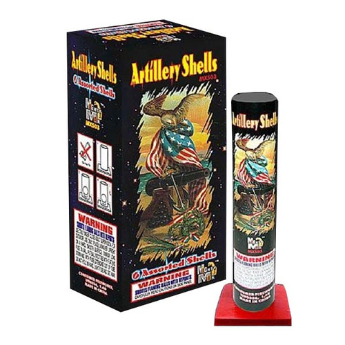 "Mighty Max Artillery Shells 1.75"" - 12/6"