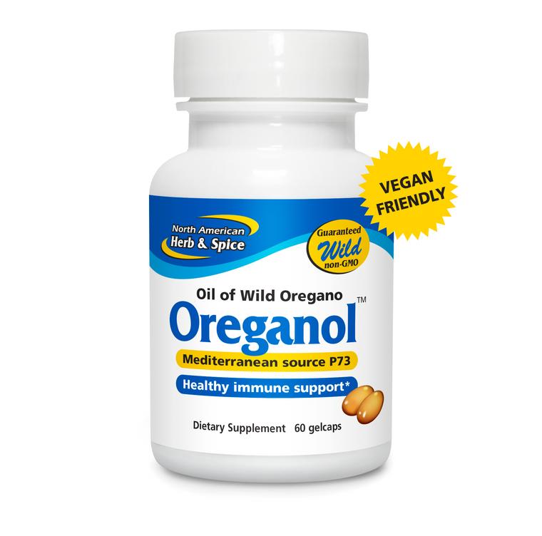 North American Herb & Spice Oreganol P73 60 Gelcaps