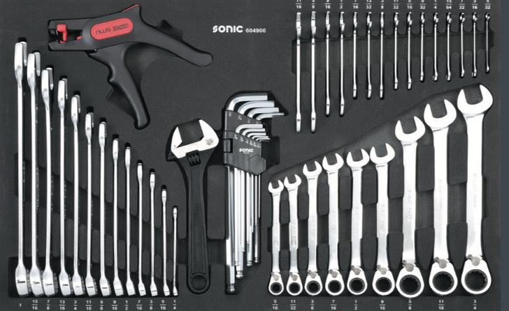 Wrench Set (SAE) 49 pcs. - MEDIUM