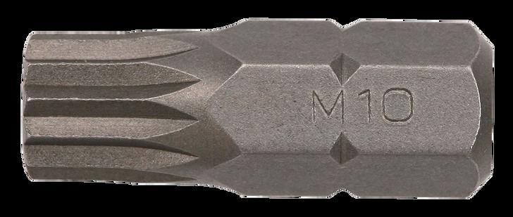 Bit spline 10mm, 30mmL M10