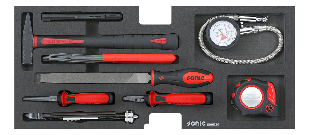 Pliers and tools set 9-pcs