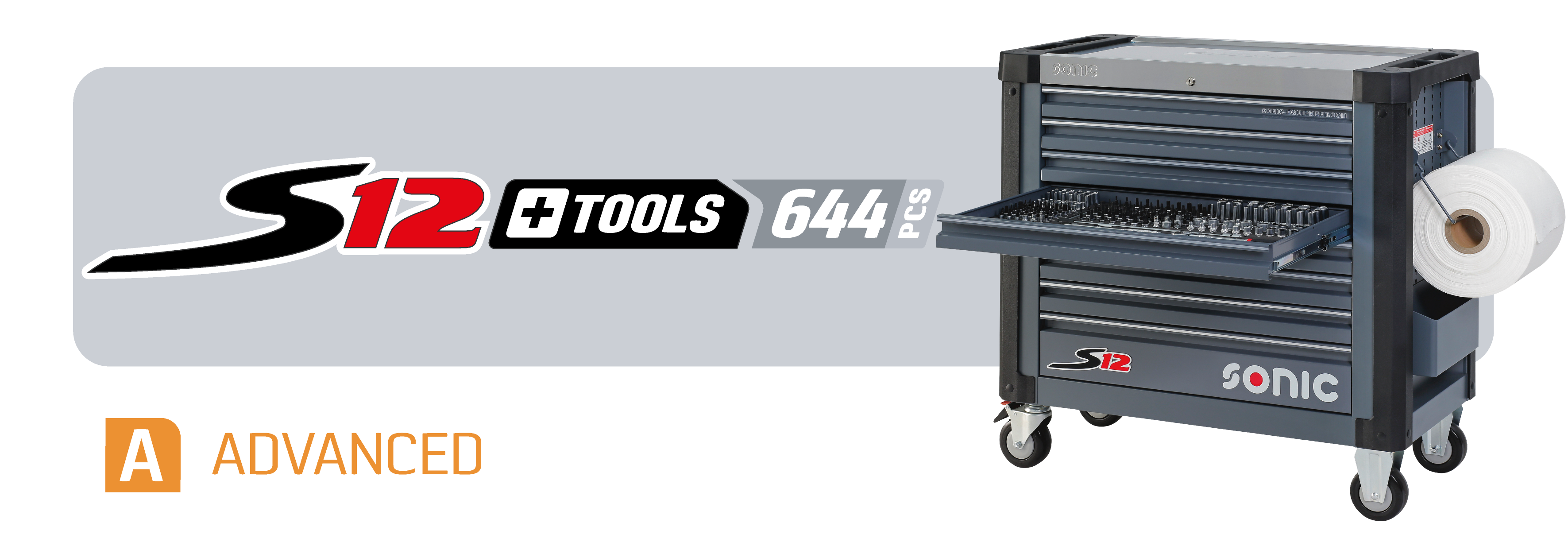 S12 toolbox with tools