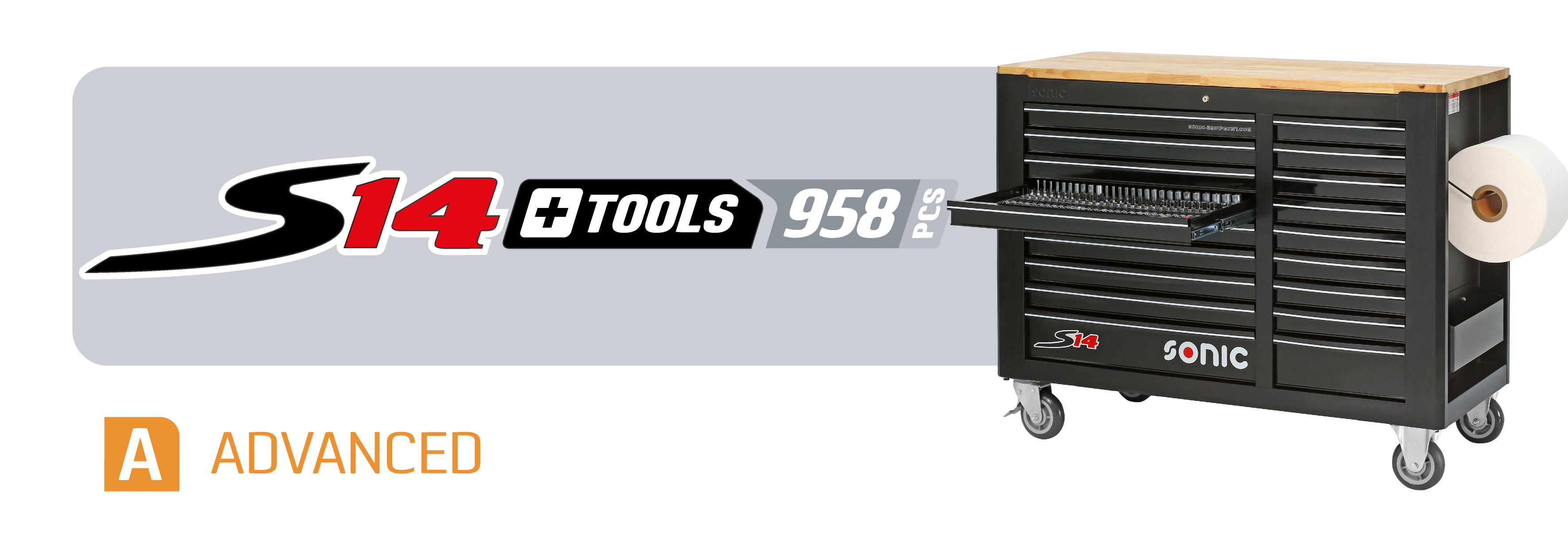 S14 toolbox with tools