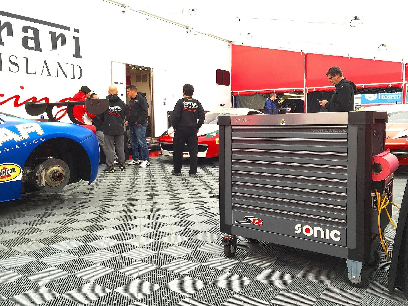 法拉利使用Sonic S12 Toolbo亚博什么时间结算一次x Plus工具赛车