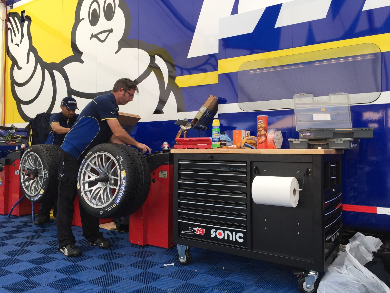 S13 Toolbox in Race Team Workshop