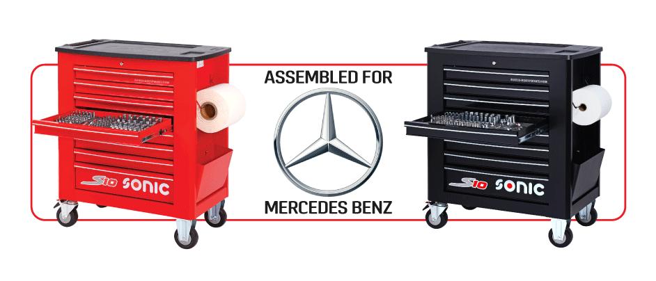 梅赛德斯 - 奔驰工具箱加工具