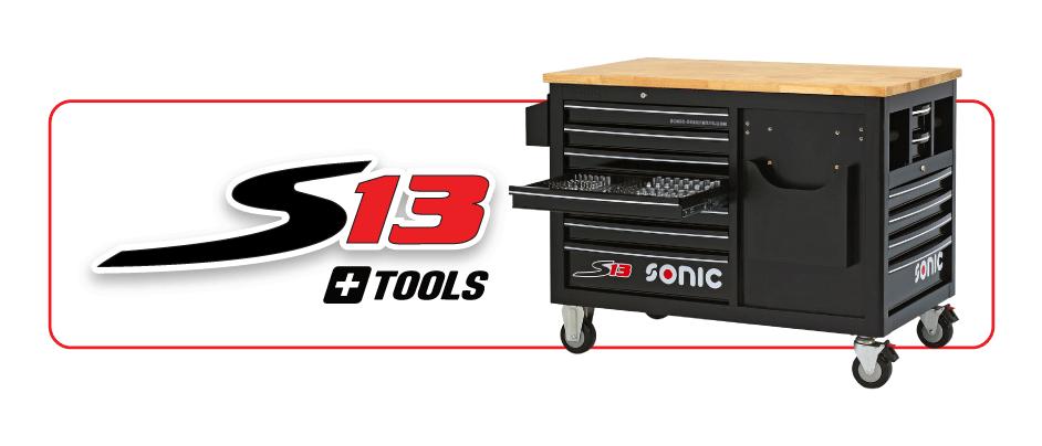 S13 plus tools