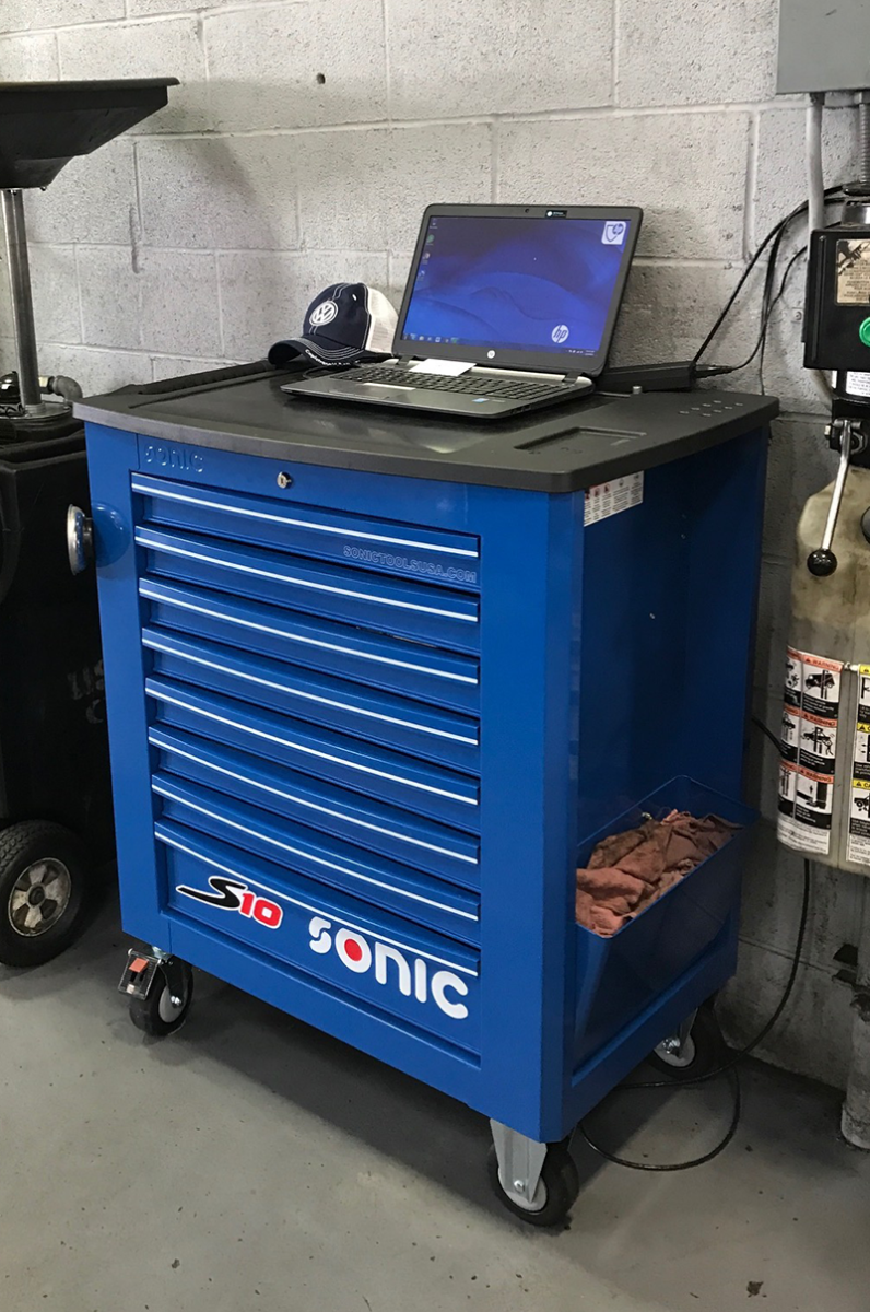 S10 Blue Toolbox
