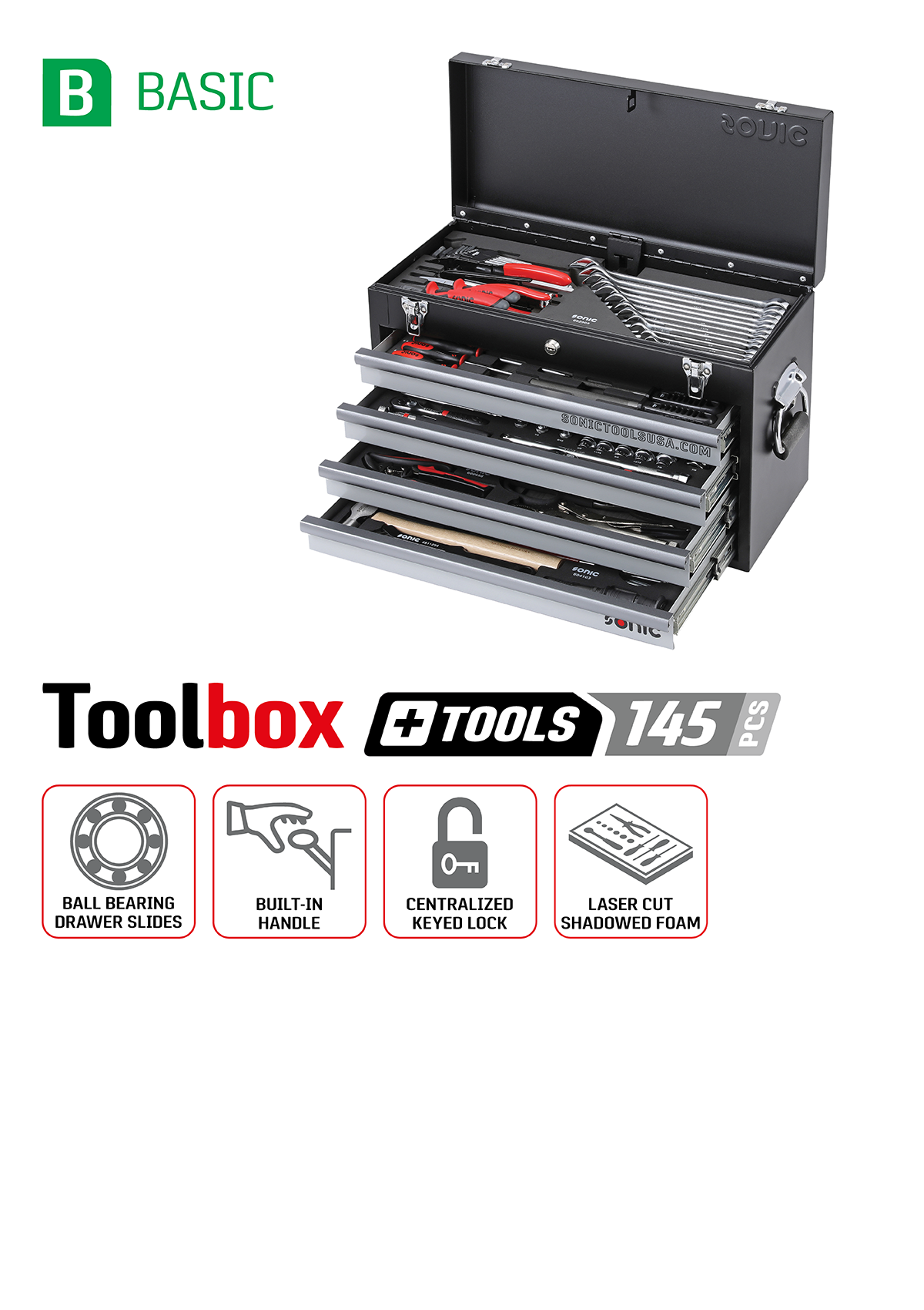 Sonic basic toolbox and toolkit