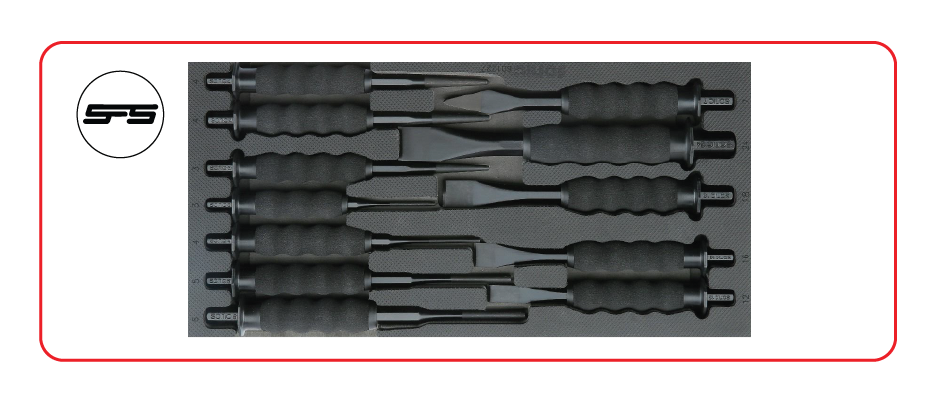 small chisel punch set