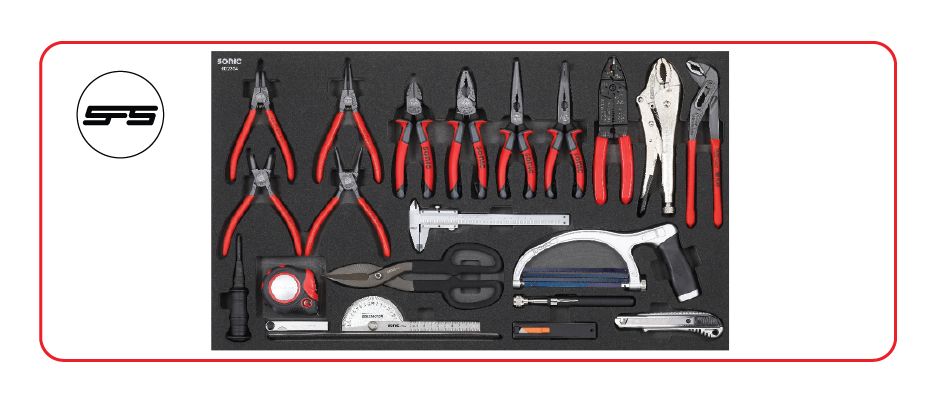 pliers and cutting tool set