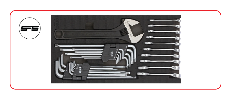 Small wrench set