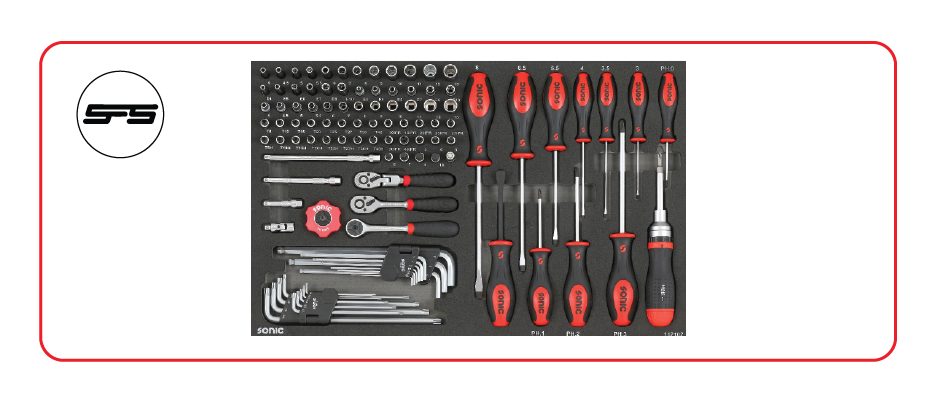 medium socket and screwdriver set