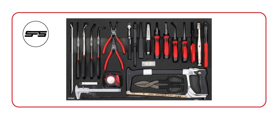 sonic medium tool set