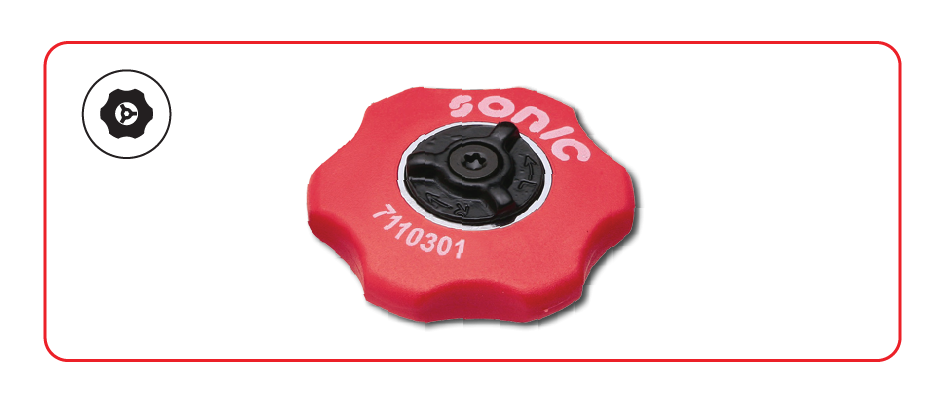 Sonic Tools 72 teeth Disc Ratchet
