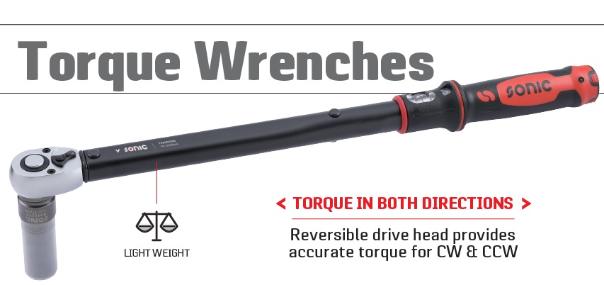 sonic torque wrenches