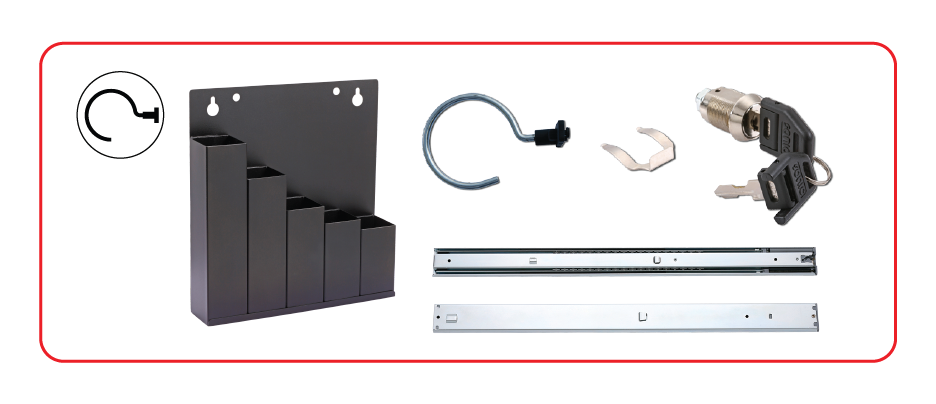 Buy cabinet components and accessories