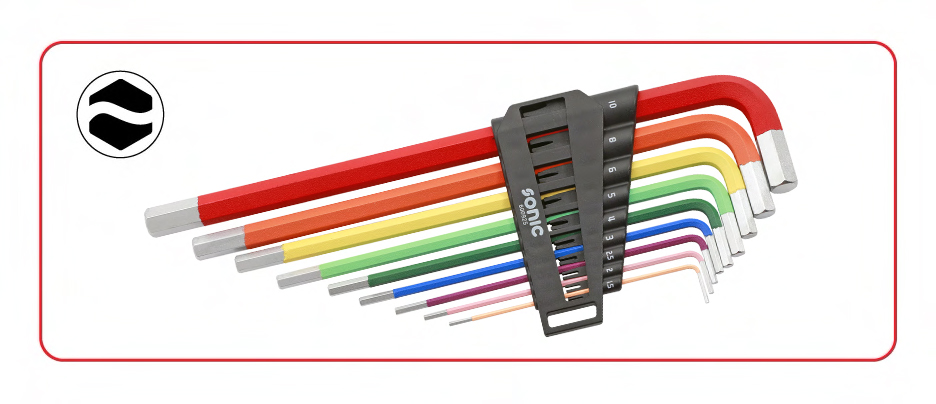 color coded hex keys