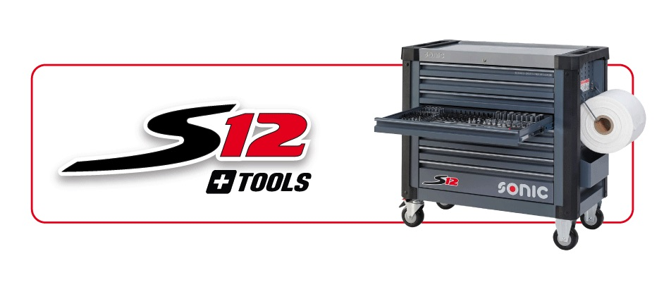 Sonic S12 filled toolbox
