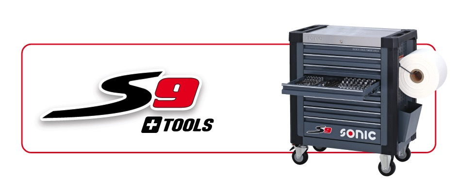 Sonic s9 toolboxes with tools