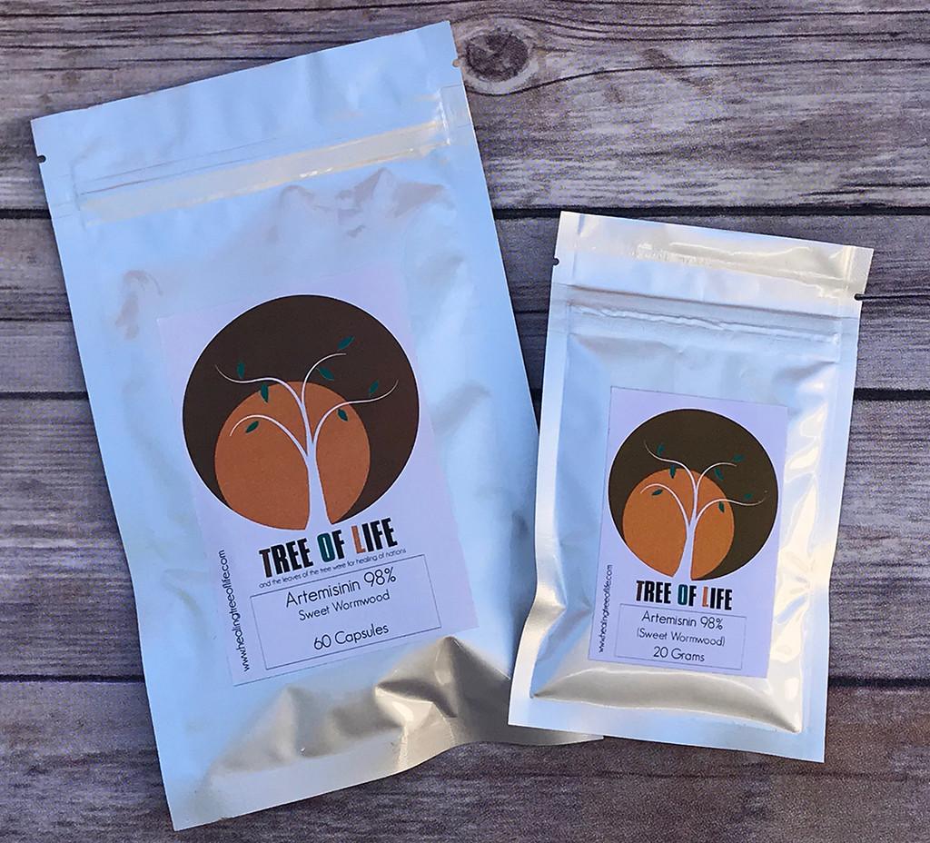 Natural Pure Artemisinin 98% Sweet Wormwood