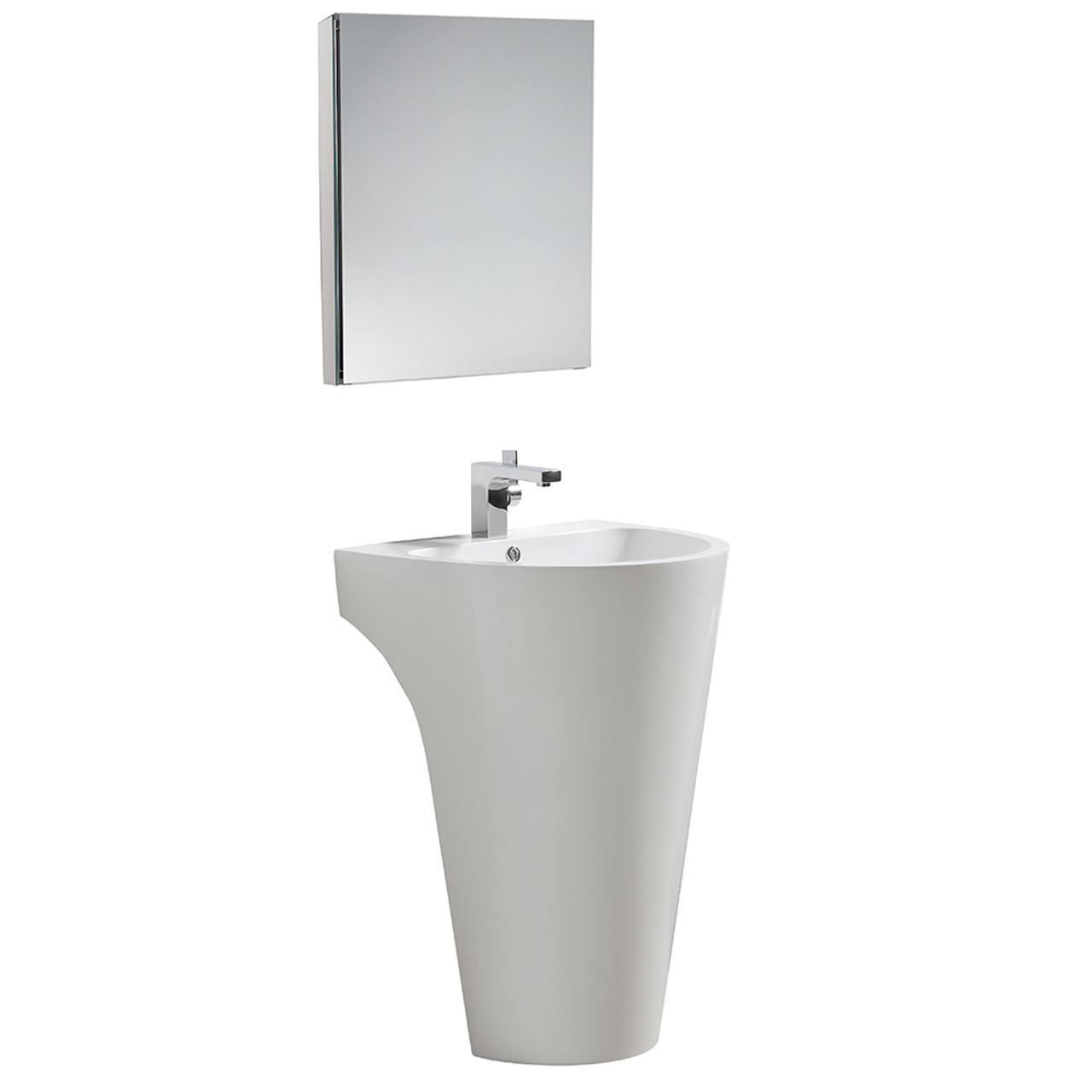A Modern Living Room, 46 Pedestal Sink Bathroom Vanity Cabinet Pictures