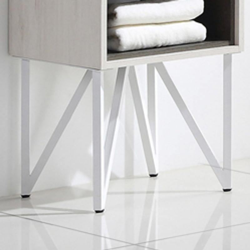 Incredible Dowell 015 Series 18 Bathroom Vanity W Ceramic Top Mount Basin V Shaped Metal Iron Legs And Led Mirror Evergreenethics Interior Chair Design Evergreenethicsorg