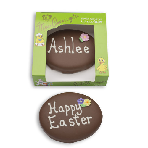 7 oz personalized chocolate egg