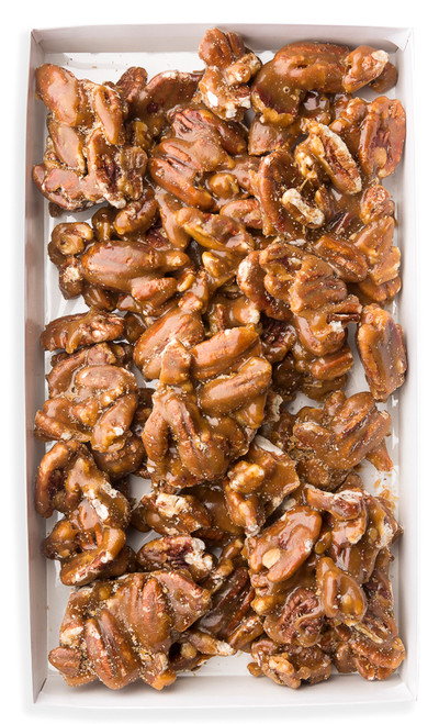 "When you take the finest pecans and add the freshest butter and other quality ingredients you create the ""the very best and crunchiest pecan brittle ever made."""