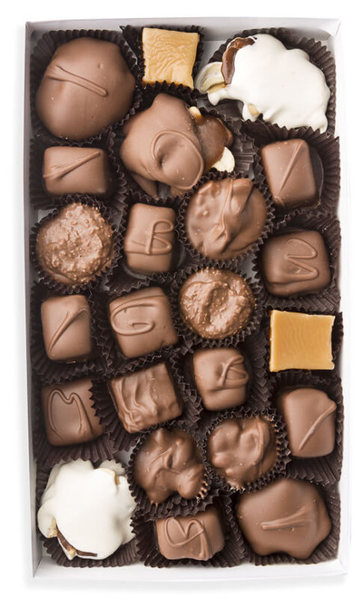 Milk chocolate Nuts and Chews assortment