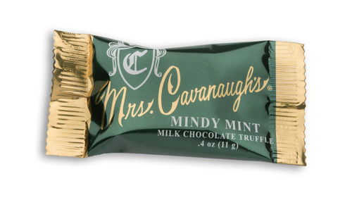 Mini Mindy Mint Chocolate Bar - .4 oz (qty discounts available)