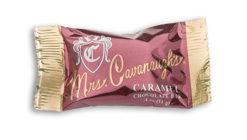 Mini Caramel Chocolate Bar - .4 oz (qty discounts available)