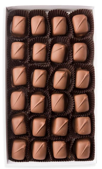 Chocolate Dipped Caramel