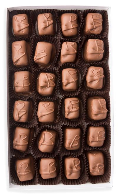 Milk chocolate Brady (caramel coconut)