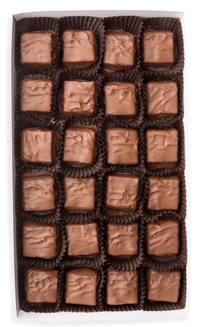 Milk chocolate Helen (caramel pecan)