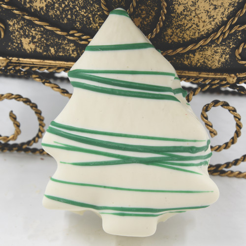 Marshmallow christmas tree