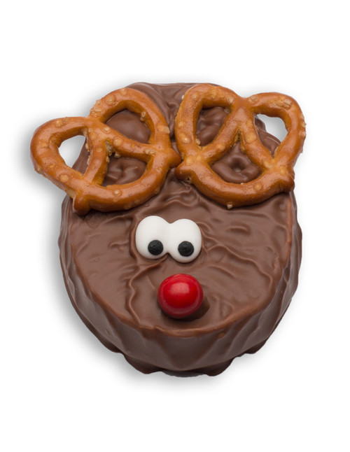 Chocolate truffle reindeer