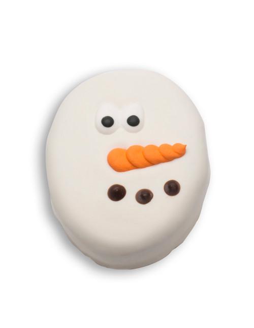 White Chocolate Caramel Snowman