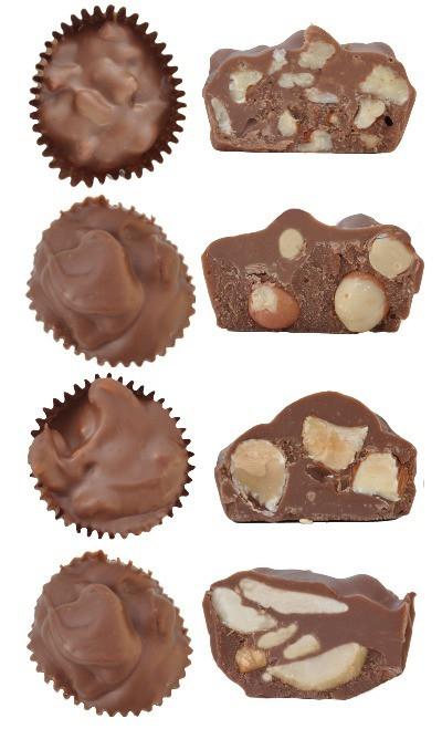 Nut cluster variety pack - 8 oz