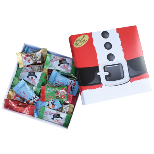 Holiday themed chocolate gift box - 24 pc