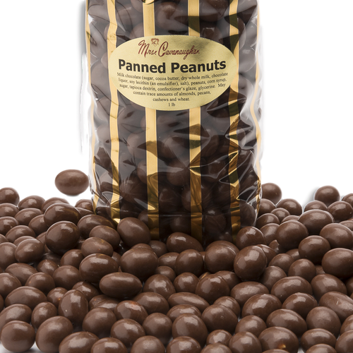 chocolate panned peanuts