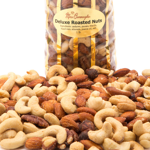 Roasted Deluxe Nut Mix - 1 lb