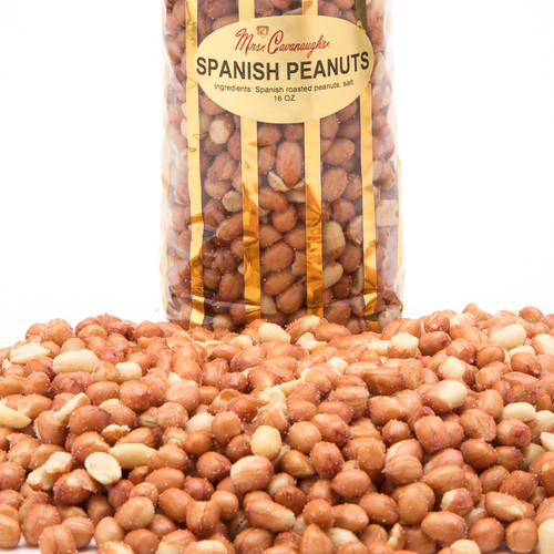 "These are the finest blend of roasted whole Spanish peanuts, making this gift box a perfect way to say ""I care"" or simply to just say ""Thanks."""