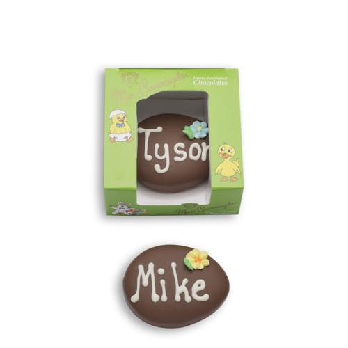 Personalized 3 oz Chocolate Egg