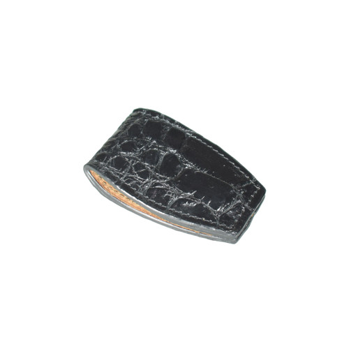 MONEY CLIP - BLAKC - ALLIGATOR SKIN